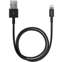 Кабель для Apple Lightning Deppa 2 м черный 72224 - Кабели USB - фотография
